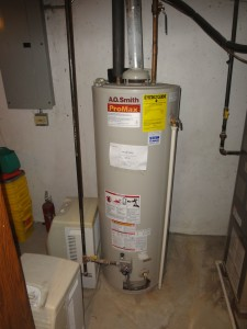 Tank Style Water Heater Inspection Racine Home Inspector